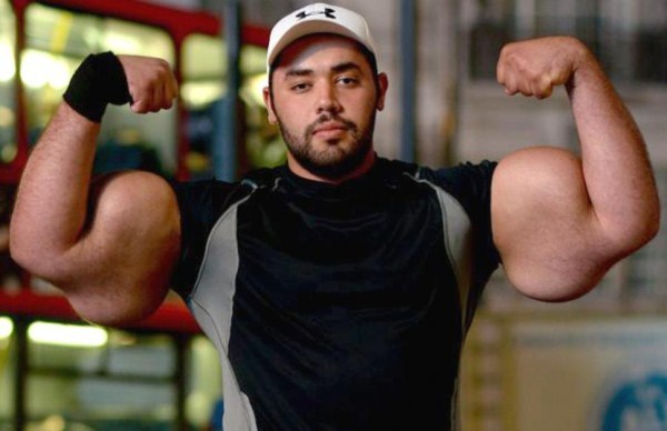 fake muscles synthol